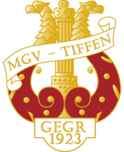 90 Jahre MGV Tiffen